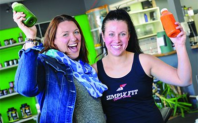 Creative juices flowing at Creston's Fit and Fresh